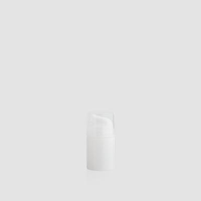"Envase cosmético ""Poseidón"" 50ml. Ref: AIP050104 Botella Airless Blanco transparente"