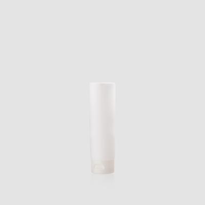 Envase cosmético Terra 100 ml. RefTUP100100 Tubo calidad PE de alta densidad de doble capa Blanco mate