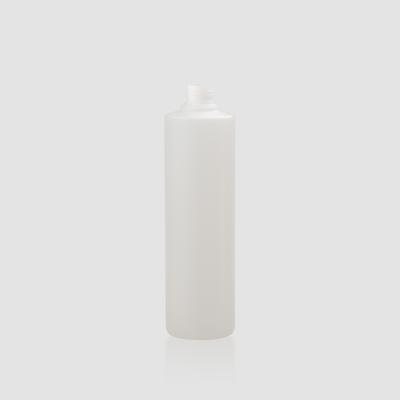 "Envase cosmético ""Venus"" 500 ml. Ref:BON500601 Botella translúcida de Bio con Disc-top o Bomba combinables"