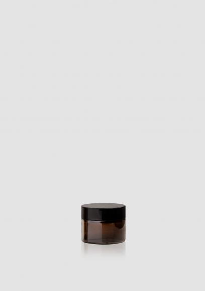 "Envase cosmético ""Ámbar"" 40 ml. Ref:JAC050105 Tarro calidad Cristal Ámbar"