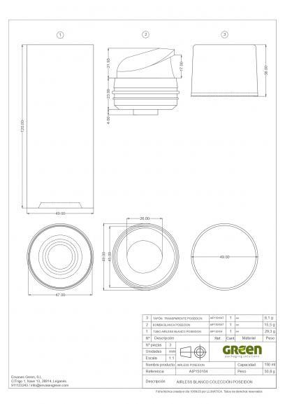 Ficha Técnica envase cosmética POSEIDON_AIP150104_01