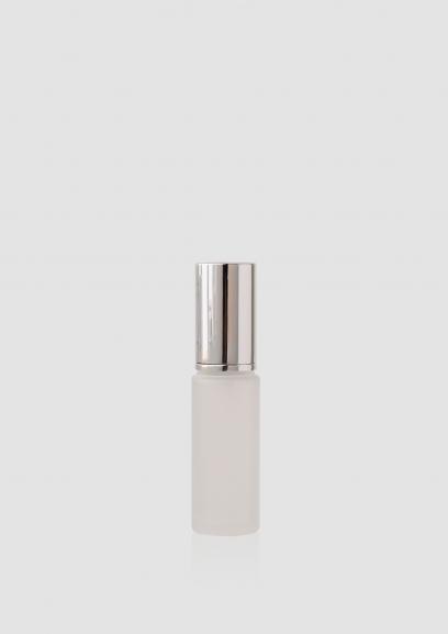 "Envase cosmético ""London"" 30 ml. Ref:BOC030102 Botella dosificadora calidad Cristal con bomba Translúcido plata"