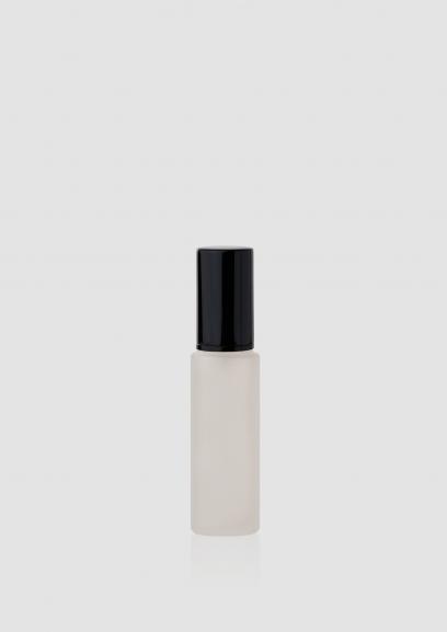 "Envase cosmético ""London"" 50 ml. Ref:BOC050100 Botella dosificadora calidad Cristal con bomba Translúcido Negro"