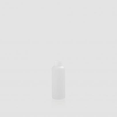"""Envase cosmético """"Plutón"""" 100 ml. Ref:BOP100700 Botella calidad PE Translucido con Disc-top o Bomba combinables"""
