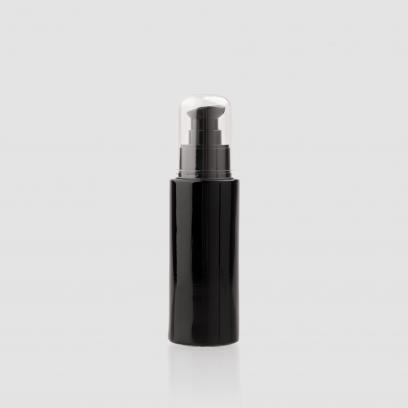 """Envase cosmético """"Zafiro"""" 50 ml. Ref:BOC050104 Botella dosificadora con bomba calidad Cristal Púrpura Protección UV"""